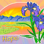Themes Of The Heart-hope Art Print