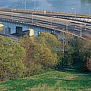 Theodore Roosevelt Bridge, Washington Art Print