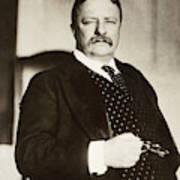 Theodore Roosevelt(1858-1919) Art Print
