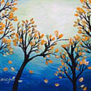 There Is Calmness In The Gentle Breeze Art Print