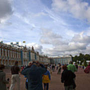 They Come To Catherine Palace - St. Petersburg - Russia Art Print