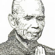 Thich Nhat Hanh Art Print