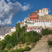 Thiksay Monastery Ladakh Jammu And Kashmir India Art Print