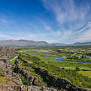 Thingvellir Iceland Art Print