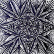 Thinkin Green Print by Sarah Yencer