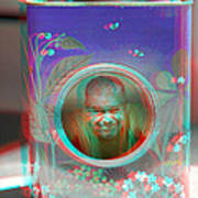 Thinking Inside The Box - Red/cyan Filtered 3d Glasses Required Art Print