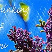 Thinking Of You 3 Art Print