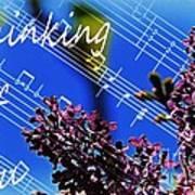Thinking Of You  - Memories - Music Art Print