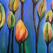 Thinking Spring Art Print