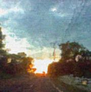 Third Sunset Art Print