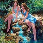 Thirst And Satiety Art Print
