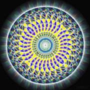 Thirteen Stage Alchemy Kaleidoscope Art Print by Derek Gedney