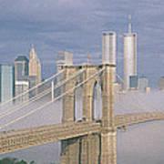 This Is The Brooklyn Bridge Art Print