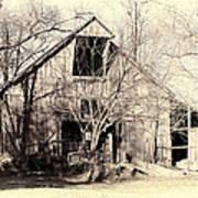 This Old Barn Art Print