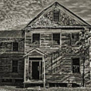 This Old House 3 Art Print