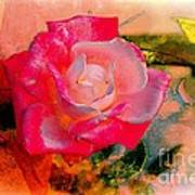 This Rose Reminds Me Of You Art Print