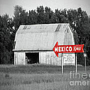 This Way To Mexico Art Print