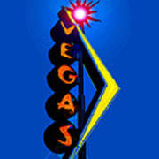 This Way To Vegas Art Print