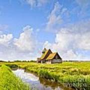 Thomas A Becket Church Romney Marsh Art Print