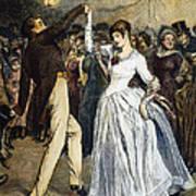 Thomas Hardy, 1886 Art Print by Granger