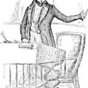 Thomas Hart Benton (1782-1858) Art Print