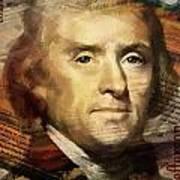 Thomas Jefferson Art Print by Corporate Art Task Force