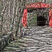 Thomas Mill Covered Bridge Art Print