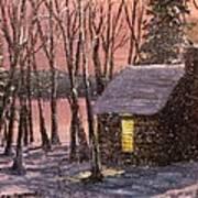 Thoreau's Cabin Art Print