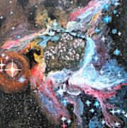 Thor's Helmet Nebula Art Print