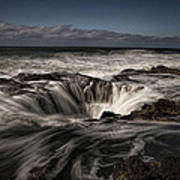 Thor's Well Or Cooks Chasm Art Print