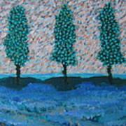 Those Trees I Always See #7 Art Print