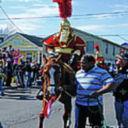 Thoth Parade Rider Art Print