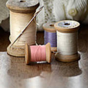 Thread And Mending Art Print