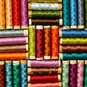 Thread Reels Art Print
