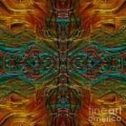 Threaded Symmetry Art Print