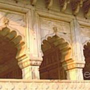 Three Arches At Sunrise Art Print