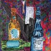 Three Beers Art Print by William Killen