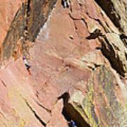 Three Climbers Art Print
