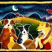 Three Dog Night Art Print
