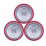 Three Drink Cans Art Print