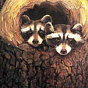 Three Is A Crowd Art Print