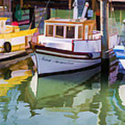 Three Little Boats Art Print