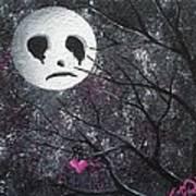Three Moons Series - Man In The Moon Art Print