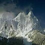 1m4503-three Peaks Of Mt. Index Art Print