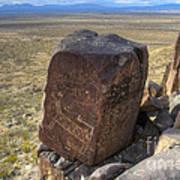 Three Rivers Petroglyphs 3 Art Print