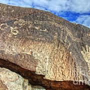 Three Rivers Petroglyphs 6 Art Print