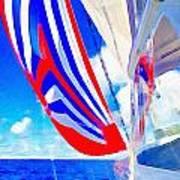 Three Sheets Sailing Art Print