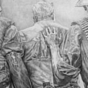Three Soldiers Art Print