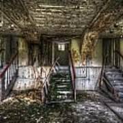 Three Stairs To Nowhere Art Print