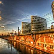 Three Towers Berlin Art Print